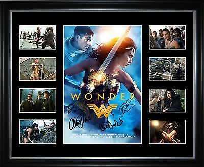 Wonder Woman Limited Edition Signed Framed Memorabilia