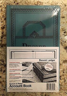 Boorum & Pease Record/ Account Book (Record Ledger, 300 pages)  * NEW & SEALED *