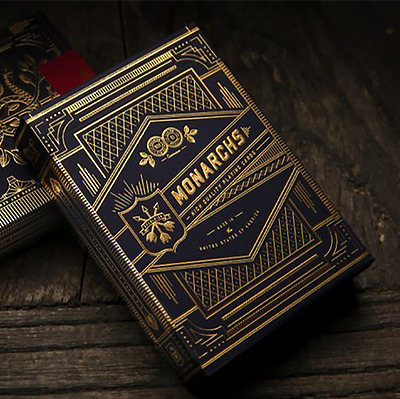 Monarch Playing Cards Deck by Theory 11 ships from Murphy's Magic