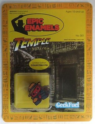 New Geek Fuel Temple Edition Pin                     (Inv13584)