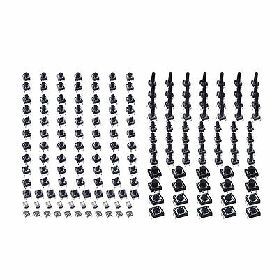 140pcs/set Tactile Tact Push Button Switch High Precision Button Switch UE