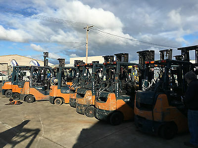 Modern Toyota Forklifts For Sale
