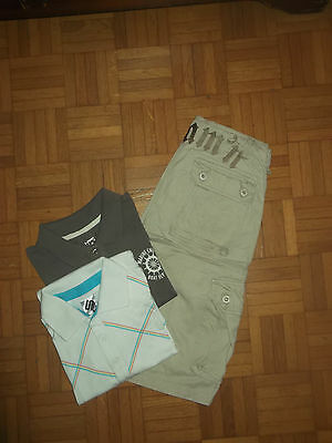 Lot Vetements Homme Ado Taille 36 Jeans  Polos Bermuda Tbe!!!