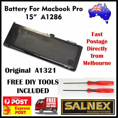 """Genuine Battery A1321 for Apple MacBook Pro 15"""" A1286  2009-2010 Models only"""
