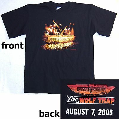 Doobie Brothers! Live At Wolf Trap 2005 Show T-Shirt Large New