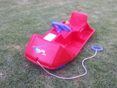 kids snow sled. Swiss made