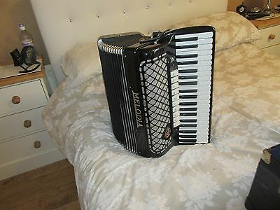 Piano Accordion Melodia, Made in Italy, and in superb condition.