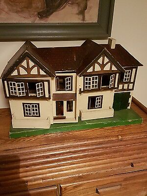 1940s dolls house Tri Ang vintage