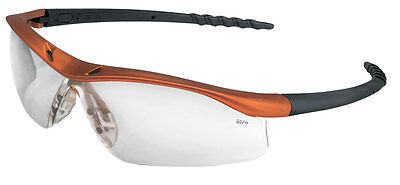 $9.99 Lab Safety Glasses Nuclear Orange / Clear Free Expedited Shipping