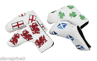 Masters Golf Headkase Putter Cover. Wales