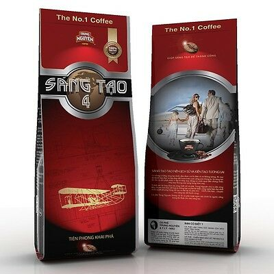 TRUNG NGUYEN VIETNAMESE GROUND COFFEE - TRUNG NGUYEN SANG TAO # 4 x 8 pack 2.7kg