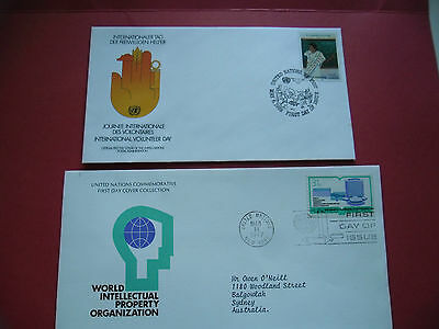 United Nations First Day Covers