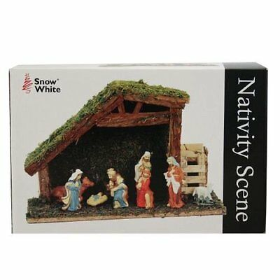 Ardisle Lareg Christmas Nativity Scene Decoration Ornament Set Festive Display