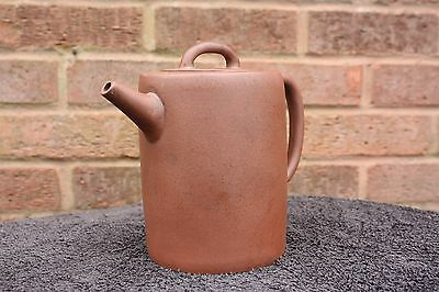 Large 19th Century Chinese Brown Clay Yixing Teapot