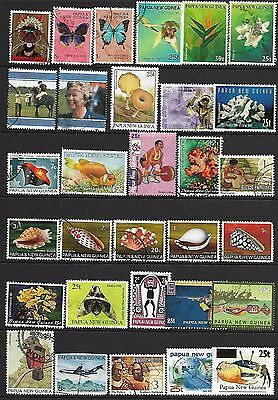 papua new guinea stamps A collection of (310 STAMPS