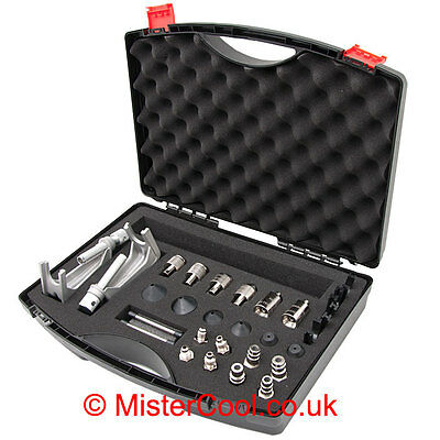 Car Air Con / Air Conditioning Flush / Flushing Toolkit / Adapter Set