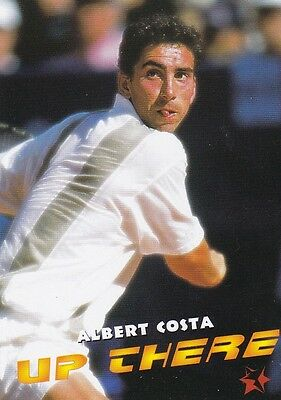 1997 Intrepid Tennis Trading Card #11 Albert Costa Spain