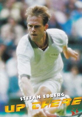1997 Intrepid Tennis Trading Card #12 Stefan Edberg Sweden
