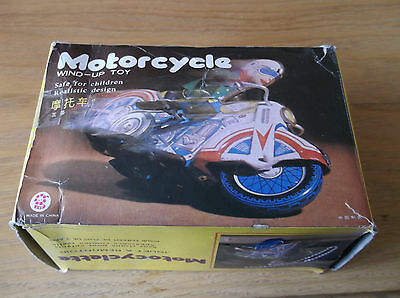 Tin Plate Motorcycle Wind Up Toy Made in  China MS702
