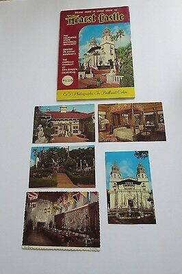 Vintage Hearst Castle Post Cards and Guide Book