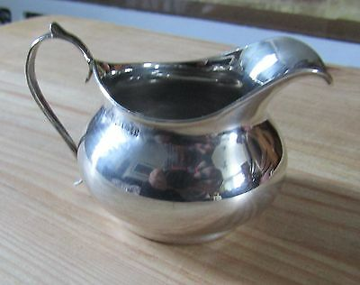 Antique Hallmarked Silver Cream Jug Birmingham 1916