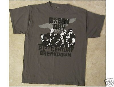 GREEN DAY 21st Century Breakdown Green T-Shirt