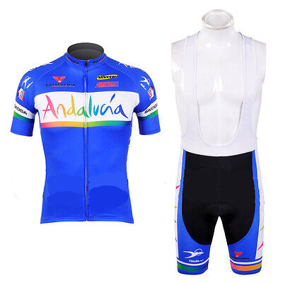 Equipacion Ciclismo Andalucia Maillot Culotte Bicicleta Mtb Spinning