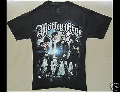 MOTLEY CRUE The Tour 2012 Size Small Black T-Shirt