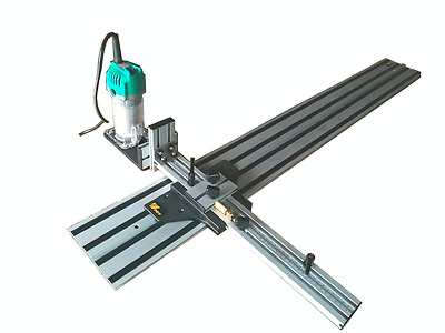800mm Circular Saw Guide Track + Router Trimmer Slotting and cutting guide