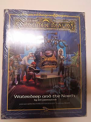 advanced dungeons & dragons forgotten realms SEALED Waterdeep North game module