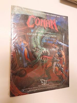 TSR advanced dungeons & dragons CONAN the BUCCANEER SEALED - game module