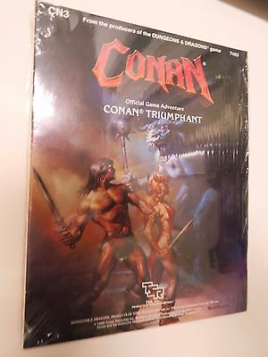 TSR advanced dungeons & dragons CONAN TRIUMPHANT cn3 SEALED - game module