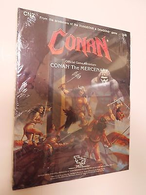 TSR advanced dungeons & dragons CONAN the MERCENARY CN2 SEALED - game module