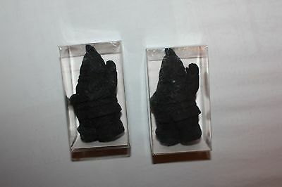 2x BN boxed big Novelty black Gnome Eraser /Rubber Party favors gift bag