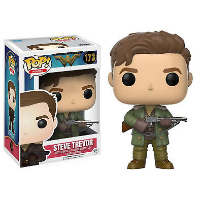 Funko Pop Heroes: Wonder Woman - Steve Trevor Vinyl Figure Item #12542