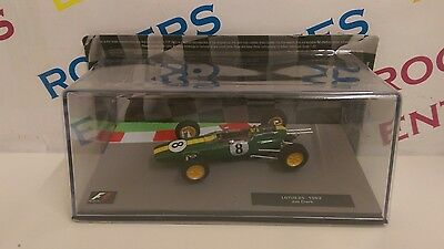 F1 The Model Car Collection Issue 15 Lotus 25 - 1963 Jim Clark - Car & Magazine