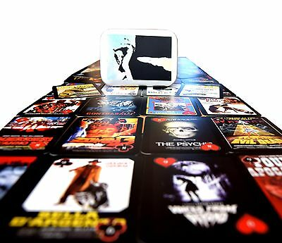 Lucio Fulci Poker Cards - Limited Edition Holographic Case. (giallo/horror)