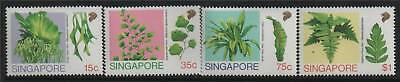 Singapore 1990 Ferns SG 641/4 MNH