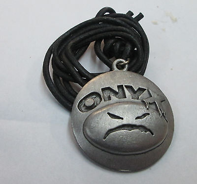 Onyx  Vintage Necklace New From Late 90's Heavy Metal