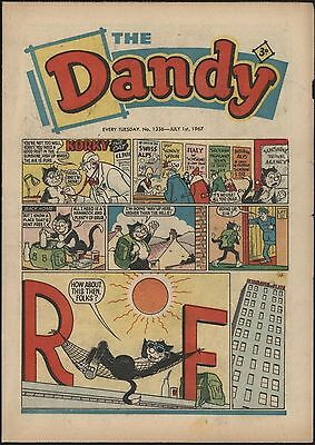 DANDY COMIC #1336 JULY 1st 1967 NICE CONDITION WITH NICE PAGE QUALITY