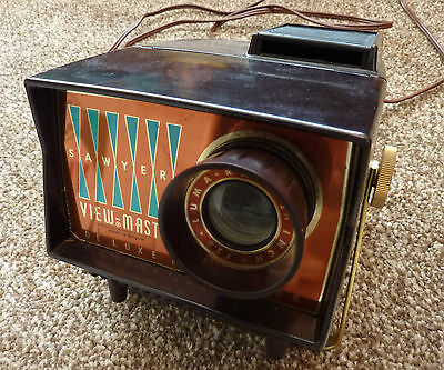 Antique Viewmaster Deluxe Projector - Viewmaster Projector - Vintage Photography