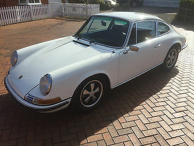 Porsche 911T 1970 Non Sunroof Coupe White Stunning With History