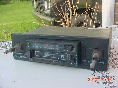 Vintage Roadmaster Car Truck Boat Radio AM FM Cassette Buick Ford Chevy Plymouth