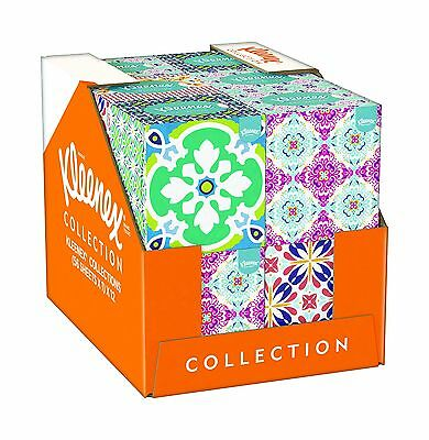 Kleenex Collection Cube - 12 Boxes (56 Tissues Per Box 672 Tissues T... Free P&P