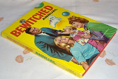 BEWITCHED ANNUAL 1968 UK hardcover full-colour
