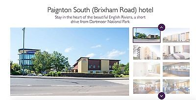 PREMIER INN 3 NIGHTS - PAIGNTON SOUTH (BRIXHAM ROAD) 31st July / 1st & 2nd Aug