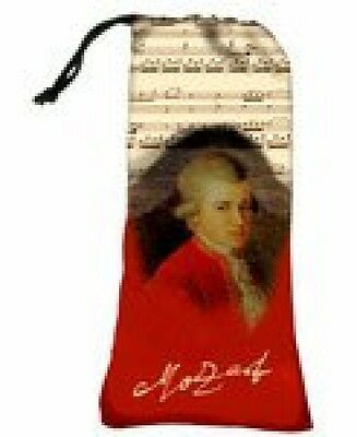 Occhiali da sole coulisse Pouch Bag Holder, tema: Mozart, Custodia per (B1X)