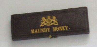 Original Royal Mint Maundy Box