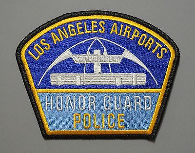LOS ANGELES California AIRPORTS POLICE HONOR GUARD Patch