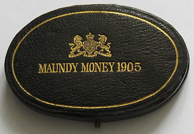 Original Royal Mint Maundy Box 1905